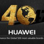 Huawei Top 500 Cele mai valoaroase brand-uri in 2017